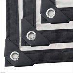 C-J-H BacheTissu imperméable à l'eau épais en Plastique Transparent Bord de Film imperméable à l'eau étanche Tissu Isolant de Temps Froid,3m×5m de la marque C-J-H image 1 produit