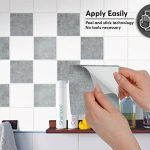 Carrelage Sticker Autocollant I Art de tuiles Mural - Peinture carrelage Salle de Bain et Cuisine Stickers Carreaux de Ciment I Design Beton - 15x15 cm (40 pièces) de la marque creatisto image 2 produit