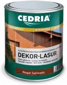 Cedria Dekor Lasur Lasure de protection pour bois extérieur Dispersion aqueuse 750ml de la marque CEDRIA image 0 produit