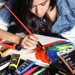 Colore - Pinceaux d'art avec étui en nylon - PAQUET complet de 36 Pinceaux professionnels - 12 pinceaux acryliques, 12 huiles et 12 aquarelles - Pinceaux légers et durables de la marque Colore image 2 produit