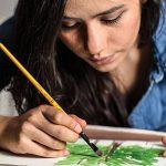 Colore - Pinceaux d'art avec étui en nylon - PAQUET complet de 36 Pinceaux professionnels - 12 pinceaux acryliques, 12 huiles et 12 aquarelles - Pinceaux légers et durables de la marque Colore image 4 produit