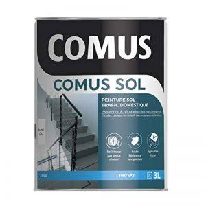 COMUS SOL GRIS CIMENT 3L Peinture de protection et décoration pour sols intérieurs et extérieurs, trafic domestique - COMUS de la marque Comus image 0 produit