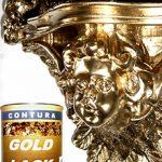 Contura Peinture dorée Effet vernis, métallisé Pour intérieur et extérieur Support bois, métal, cadre photo Effet feuille d'or 125ml de la marque Contura image 1 produit