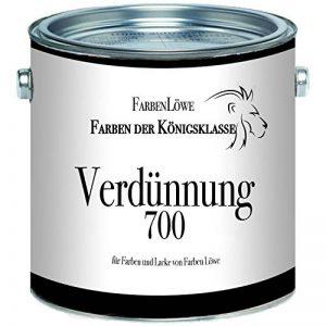 Couleurs Lion Diluant Diluant 700–Spécial extra Résine alkyde pour peinture et vernis de couleurs Lion, transparent de la marque Farben Löwe image 0 produit