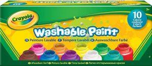 Crayola - 54-1205-e-000 - Kit De Loisirs Créatifs - 10 Pots De Peinture - Lavable de la marque Crayola image 0 produit
