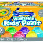 Crayola - 54-5000-e-000 - Kit De Loisirs Créatifs - 6 Pots De Peinture - Métallique de la marque Crayola image 1 produit