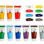 Creative Deco Peinture Acrylique XXL | Lot 12 Grands Tubes 100 ML | Fabriqué en UE | Idéal pour Enfants Débutants Étudiants Artistes Professionnels | Idéal pour Bois Toile Tissu et Papier de la marque Creative-Deco image 1 produit