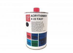 Diluant acrylique rapide pour vernis viernici transparentes et fonds acrylique 1K et 2K carrosserie de la marque EP VERNICI image 0 produit