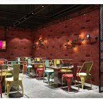 DSZQ Papier Peint Vintage Papier Peint Brique Effet 3D Style Industriel Étanche PVC Décoration Murale pour Bars/Cafés/Restaurants LMD-052 (Couleur : A, taille : 393in*20.8in) de la marque DSZQ image 1 produit
