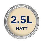 Dulux Peinture lavable facile d'entretien et résistant Mate–Babeurre 2.5L de la marque AkzoNobel image 1 produit