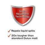 Dulux Peinture lavable facile d'entretien et résistant Mate–Babeurre 2.5L de la marque AkzoNobel image 3 produit