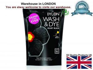 Dylon - Dylon - Lessive & Teinture - Lave & Teint en noir pendant le lavage en machine - Grand contenant - 400g -Noir de la marque Dylon image 0 produit