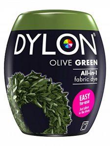 Dylon Teinture Textile pour Machine à Laver, Vert Olive, 8.5 x 8.5 x 9.9 cm de la marque Dylon image 0 produit