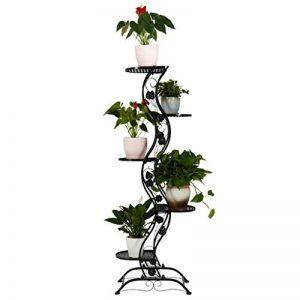 EGCLJ Multicouche Fer Fleur Stand Au Sol Salon Salon Planteur Présentoir Intérieur en Plein Air Jardin Patio Fleur Debout Rack de la marque EGCLJ image 0 produit