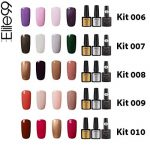 Elite99 Vernis Semi permanent Vernis à Ongles Gel UV LED Soakoff 7pcs Kit Manicure Pour Ongle avec Base Coat, Top Coat Brillant, Top Coat Mat 7.3ml - Kit001 de la marque Elite image 2 produit
