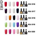 Elite99 Vernis Semi permanent Vernis à Ongles Gel UV LED Soakoff 7pcs Kit Manicure Pour Ongle avec Base Coat, Top Coat Brillant, Top Coat Mat 7.3ml - Kit001 de la marque Elite image 4 produit