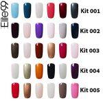 Elite99 Vernis Semi-Permanent Vernis à Ongles UV LED Soak Off Kit 6 Couleurs X 7.3ml de la marque Elite image 3 produit