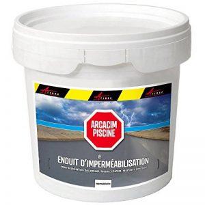 Enduit piscine d'étanchéité hydrofuge bassin béton cuvelage mortier imperméable ARCACIM PISCINE de la marque ARCANE-INDUSTRIES image 0 produit