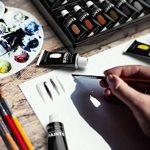 Ensemble de peinture acrylique, 48couleurs vives avec plus grand tubes. Le principal kit pour artistes, débutants ou enfants de Castle Art Supplies de la marque Castle-Art-Supplies image 2 produit