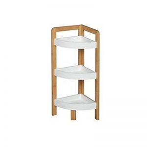 Etagère d'angle 3 niveaux bambou Blanc de la marque Eminza image 0 produit