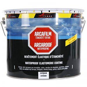 Etancheite toiture peinture résine anti infiltration tuile béton fissure membrane réparation ARCAFILM de la marque ARCANE-INDUSTRIES image 0 produit
