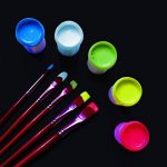 Eventlights Peinture Fluo - Peinture UV - Peinture Murale - Lumière Noire (500 ml, Blanc) de la marque EVENT LIGHTS image 2 produit