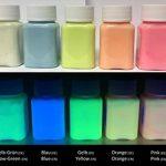 Excellente couleur lumineuse - Peinture phosphorescente très lumineux, Peinture lumineuse, Couleur professionnelle, lumière noire UV (aluminate de strontium | Non toxique | ultra résistant) (100 ml, Vert-Bleu) de la marque lumentics image 4 produit