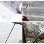Extérieur 100% Impermeable Heavy Duty Bâche Transparente Bâche Poussière de bâtiment/Peinture/saleté/Feuille de Pluie avec Oeillets, épaisseur 0,5 mm, 600 g/m² de la marque YFF-Bâche image 3 produit