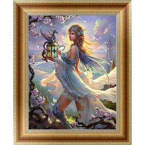 Fairlove Belle Fille 5D Diamond Broderie DIY Peinture Stitch Mosaic Décor Moderne Housse Chambre Salon Murale de la marque fairlove image 0 produit