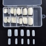 Faux Ongles Artificiels en Acrylique DIY Faux Ongles Acrylique Gel UV Art Tips (100 Pièces, Plein Naturel Translucide) de la marque Hotop image 2 produit
