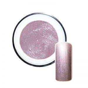 Flip-Flop Vernis nacre blanche avec Vert/rose Glitter fort pouvoir couvrant 5ml de la marque Nailclub-Berlin image 0 produit