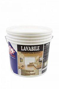 GDM - Peinture à l'eau lavable, idéale pour chambres et salons, blanc de la marque GDM-Company image 0 produit