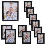 Giftgarden Cadre Photo Déco Mural en Bois Composite Multiple Taille Lot de Cadre 11 Pièces 9X13/ 10X15/ 13X18/ 20X25 de la marque Giftgarden image 2 produit