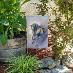 GRAPHICS & MORE Graphique et Plus de Cheval Exécuter Peinture Couleurs Tendance Jardin Yard Drapeau avec Support de Poteau Support de la marque GRAPHICS & MORE image 2 produit
