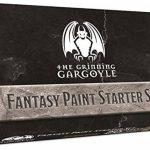 Grinning Gargoyle FPS001 - Ensemble de Peinture de Fantaisie - Peintures acryliques pour Miniatures - 20x Couleurs Assorties de 18 ML- Comprend Un Pinceau - Peintures de Guerre - Peintre de l'Armée de la marque The Grinning Gargoyle image 2 produit