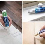 Grout Pen–Stylo conçu pour restaurer les joints de carrelage dans la salle de bains et la cuisine (Gris clair) de la marque Grout Pen image 4 produit