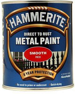 Hammerite métal peinture lisse 750ml Rouge de la marque Hammerite image 0 produit