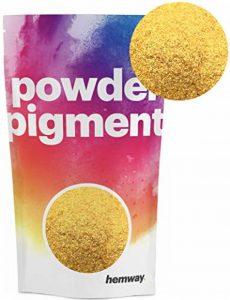 Hemway Poudre de pigments Couleur Luxe Ultra-sparkle Dye métallique pigments pour résine époxy, polyuréthane Peinture, or de la marque Hemway image 0 produit