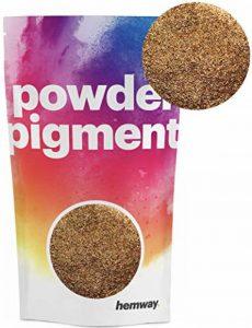 Hemway Poudre de pigments Couleur Luxe Ultra-sparkle Dye métallique pigments pour résine époxy, polyuréthane Peinture, orange de la marque Hemway image 0 produit