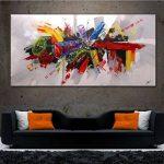 Hianiquaime® Tableau Peintures à l'huile Impression sur Toile Décoration Murale Peinture Décorative Image Moderne 60 * 120cm sans Cadre de la marque Hianiquaime image 4 produit