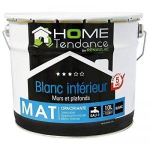 HOME TENDANCE Peinture murale 10 L blanc mat de la marque HOME TENDANCE image 0 produit