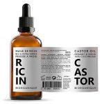 Huile de Ricin 100% Bio, Pure et Naturelle - 100 ml - Soin pour Cheveux, Cils, Ongles, Peau. de la marque Biorganique image 1 produit