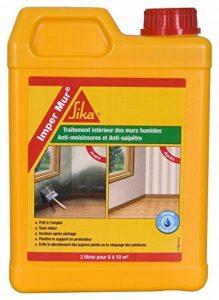 Imper Mur, Resine pour traitement des murs humides - anti salpetre - anti moisissures, 2L, Blanc de la marque SIKA image 0 produit