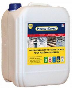 Imperméabilisant Hydrofuge, oléofugepour matériaux poreux Guard Industrie PROTECTGUARD 10L de la marque Guard-Industrie image 0 produit