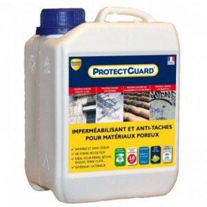 Imperméabilisant Hydrofuge, oléofugepour matériaux poreux Guard Industrie PROTECTGUARD 2L de la marque Guard-Industrie image 0 produit
