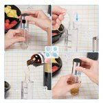 iTrunk Pulverisateur Huile d'olive Huile Vinaigre Vaporisateur Pulvérisateur Distributeur avec Une Tique Marque pour Alimentaire Cuisine Barbecue avec Pinceau à Huile Brosse de Nettoyage Entonnoir de la marque iTrunk image 4 produit