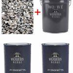 Kit complet pour tapis de pierre W730 Gravier de marbre | Grigio Carnico 1-4mm | 2qm de la marque Wowe image 1 produit