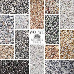 Kit complet pour tapis de pierre W730 Gravier de marbre | Rosso Verona 1-4mm | 2qm de la marque Wowe image 0 produit