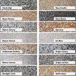 Kit complet pour tapis de pierre W730 Gravier de marbre   Rosso Verona 1-4mm   2qm de la marque Wowe image 1 produit