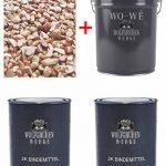 Kit complet pour tapis de pierre W730 Gravier de marbre   Rosso Verona 1-4mm   2qm de la marque Wowe image 2 produit